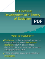 The Historical Development of a Theory of Evolution_April 2014