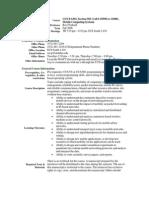 UT Dallas Syllabus for cs6392.501 06f taught by Ravi Prakash (ravip)