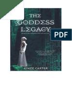 2.5-Aimée Carter - Goddess Legacy - Serie Goddess - Aimee Carter