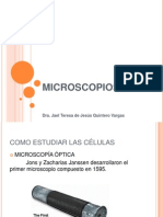2.0 Microscopios y Estudio de Las Celuals