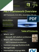 1 Net Framework Overview