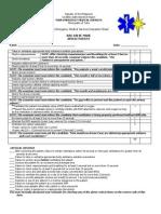 TEMS Evaluation Sheet 1.1- Bag-Valve-Mask