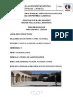 MÓDULO - TEORÍA DE LA EDUCACIÓN