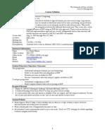 UT Dallas Syllabus for mis6319.501 06f taught by Nirup Menon (menon)