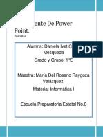 El Ambiente de Power Point