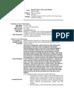 UT Dallas Syllabus for phys5v49.002 06f taught by Mary Lena Kelly (mlk023000)