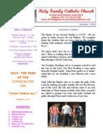 hfc december 7 2014 bulletin 2