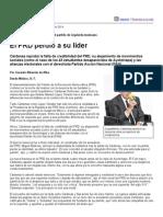 Página_12 __ El Mundo __ El PRD Perdió a Su Líder