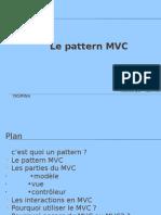 Le Pattern MVC