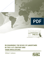 Reexamining the Role of Land Power in the 21st Century