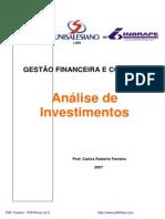 Apostila an%E1lise de Investimento - MBA Lins 2007