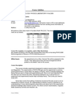 UT Dallas Syllabus for phys2126.107 06f taught by Paul Macalevey (paulmac)