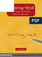 Writing Well-The Essential Guide