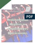El Amplificador Operacional -Realim Negativa