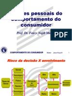III Fatores Pessoais Do Comportamento Do Consumidor