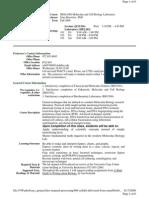 UT Dallas Syllabus for biol4380.003 06f taught by Irina Borovkov (ixb053000)