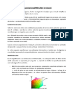 Resumen Fundamentos de Color