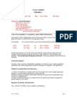 UT Dallas Syllabus for math2417.501 06f taught by Frank Allum (fallum)