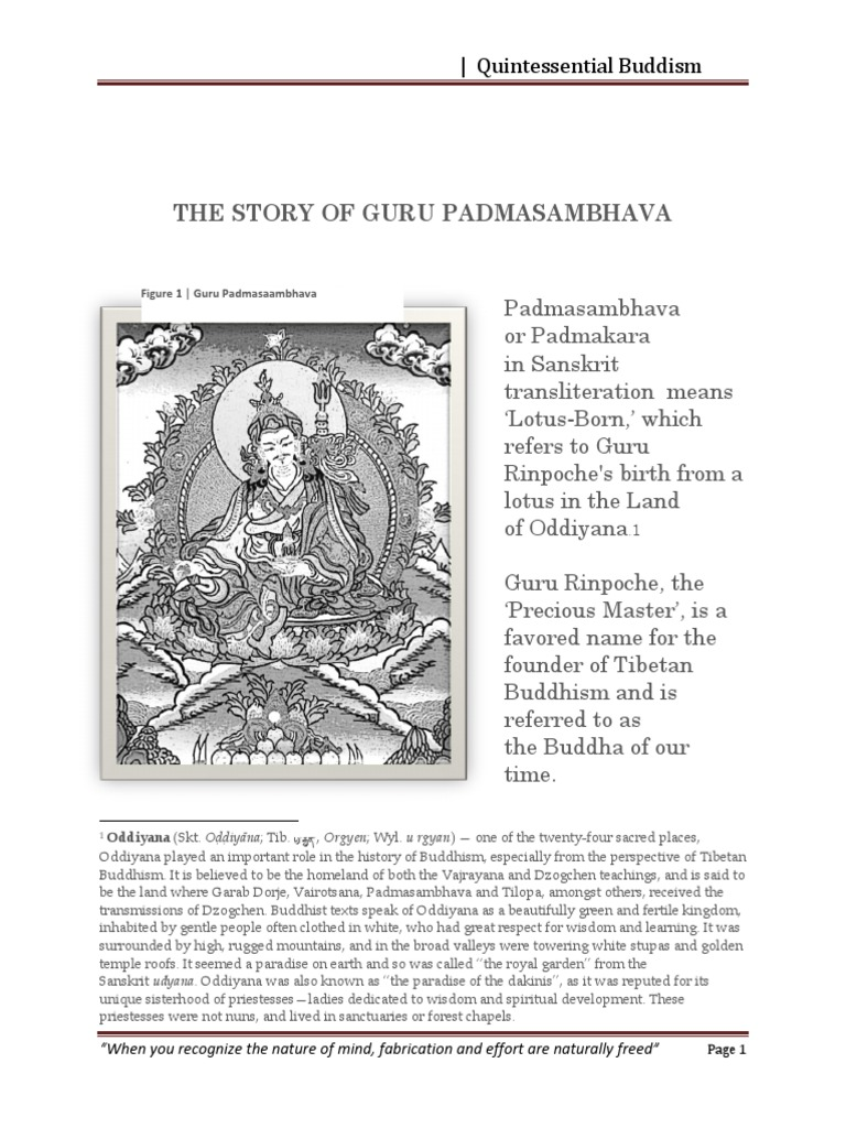 Padmasambhava life story vajrayana padmasambhava fandeluxe Image collections