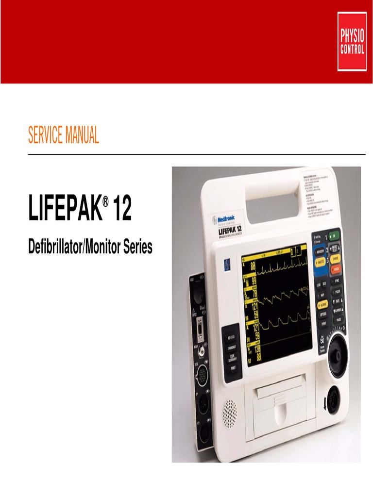 lifepak 12 service manual monitoring medicine electrocardiography