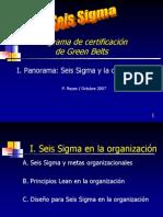 Panorama Seis Sigma Gb