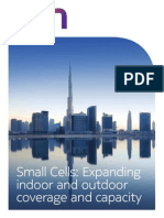 Small Cells Expanding Indoor and Outdoor Coverage and Capacity Brochure