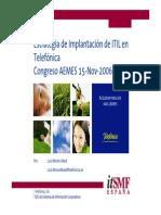 11 Estrategia de Implantacion de ITIL en Telefonica