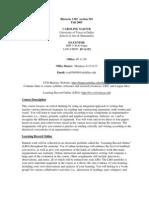 UT Dallas Syllabus for rhet1302.501 05f taught by Caroline Najour (cxn038000)