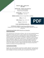 UT Dallas Syllabus for rhet1302.019 05f taught by Sarah Bowman (slb026000)