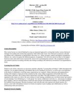 UT Dallas Syllabus for rhet1302.009 05f taught by James Fassler (jpf015000)