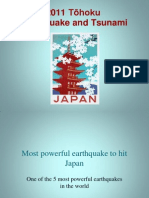 2011 Tohoku Earthquake and Tsunami
