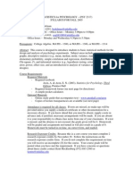 UT Dallas Syllabus for psy2317.501 05f taught by Betty-gene Edelman (bedelman)