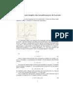 Derivação simples das transformações de Lorentz