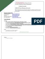 UT Dallas Syllabus for opre6374.pi1 06u taught by James Joiner (jamesj)