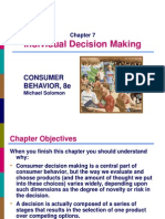 Chapter 7 - Consumers as Decision Makers