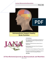 JANA Prevention of Neurological Disease