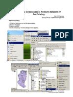 Creating Geodatabase