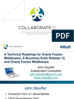 Stouffer Technical Roadmap for Oracle Fusion 03-04-12 BJM V3 PPT