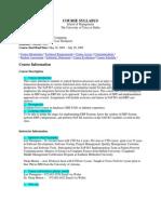 UT Dallas Syllabus for mis6319.0g1 05u taught by Nirup Menon (menon)