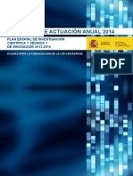 Programa Actuacion Anual 2014