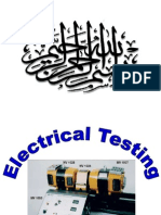 Electrical Testing - Part 1