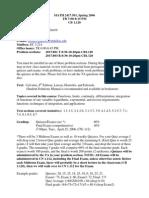 UT Dallas Syllabus for math2417.501 06s taught by Bentley Garrett (btg032000)
