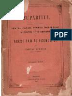 Stuparitul - C.damian - 1887 - 160 Pag
