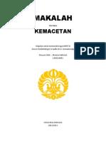 MAKALAH KEMACETAN.docx