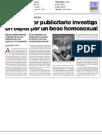 Impreso - El regulador publicitario investiga un spot por un beso homosexual