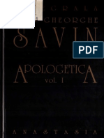 Gheorghe Ioan Savin - Apologetica (1)