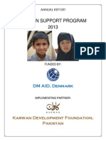 Annual Report- 2013 - Orphan Support Program