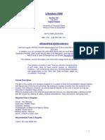 UT Dallas Syllabus for lit3300.501 05f taught by Sigrid Koepke-fruend (sigrid)