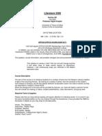 UT Dallas Syllabus for lit3300.001 05f taught by Sigrid Koepke-fruend (sigrid)