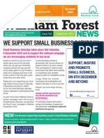 Waltham Forest News 1st December 2014